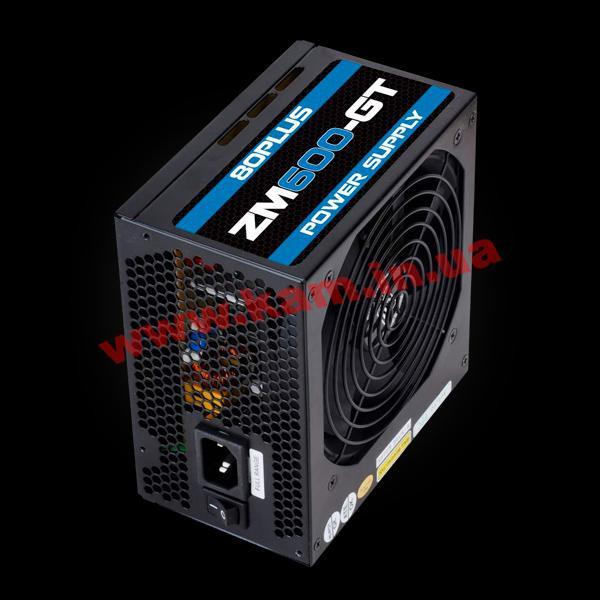 Zalman 600w zm600-gt series - atx 12v v23, eps 12v, 120mm fan, 80 plus bronze certified