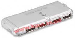 Концентратор USB Hub Manhattan Hi-Speed Classic Desing 4 ports USB2.0 (160599)