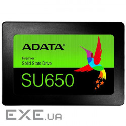 SSD накопитель ADATA Ultimate SU650 120 GB (ASU650SS-120GT-R)
