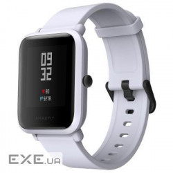 "Умные часы Xiaomi Amazfit Bip White Cloud (UG4024RT), 1.28"" (176 x 176) сенсорный / Media (UG4024RT)"
