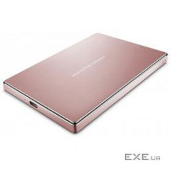 HDD USB-C 2TB EXT./ ROSE/ GOLD STFD2000406 LACIE