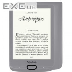 Електронна книга PocketBook 616, Matte Silver (PB616-S-CIS)