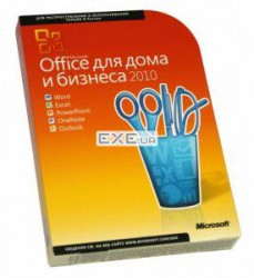 Офисное ПО Microsoft Office 2010 Home and Business Russian DVD ОЕМ (T5D-01549)