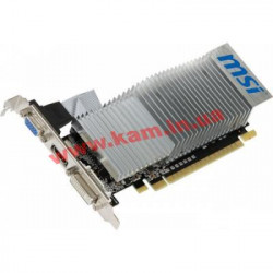 Видеокарта MSI GeForce GT210 1GB(512Mb)DDR3 64bit Turbocache (N210-TC1GD3H/LP)