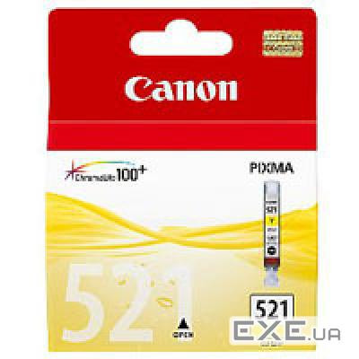 Картридж Canon CLI-521Y (Yellow) MP540/ 630 530 стр@5% (А4) для PIXMA MP540/ 630 (2936B004)