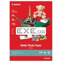 Фотобумага Canon A4 Photo Paper Matte MP-101, 50л. Формат: А4; (7981A005)