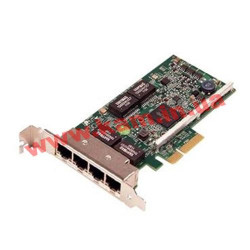Сетевая карта Dell Broadcom 5719 QP 1Gb Network Interface Card, Low Profile,CusKit (540-BBHB)