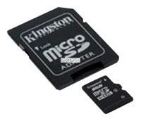 Карта памяти Kingston MicroSDHC 8GB (SDC4/8GB)