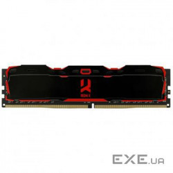 Оперативная память GOODRAM 8 GB DDR4 3000 MHz Iridium X Black (IR-X3000D464L16S/8G)