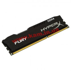 Память Kingston 8 GB DDR4 2400 MHz HyperX Fury Black (HX424C15FB2/8)