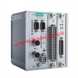 Modular RTU controller with M12 connectors, 2 I/ O slots, C/ C++, -40 to 75C (ioPAC 8500-2-M12-C-T)