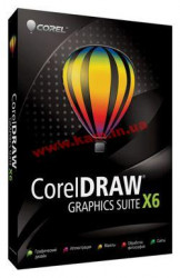 CorelDRAW Graphics Suite X6 License (2,501-5,000) (LCCDGSX6MLJ)