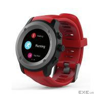Фитнес устройства ERGO Sport GPS HR Watch S010 - Спортивные часы (Black) (GPSS010B)