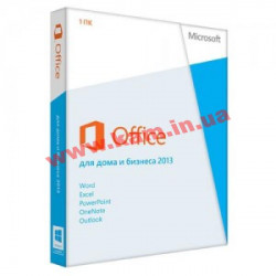 MS Office 2013 Home and Business 32-bit/ x64 Russian OEM (T5D-01870)