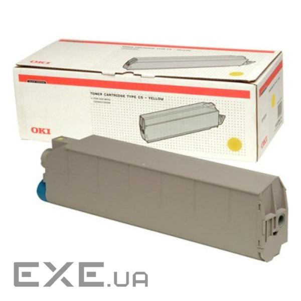 Картридж OKI TONER-C9300/ 9500-Yellow, 15000 Pages, NON-EU (41963675) Toner-Y-C93/ 95 (41963675)