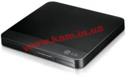 Оптический накопитель DVD RAM & DVD±R / RW & CDRW HLDS GP50NB41 < Black > USB2.0 EXT (RTL (GP50NB41)