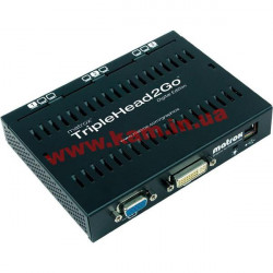 Matrox TripleHead2Go Digital Edition splitter {T2G-D3D-IF} (T2G-D3D-IF)