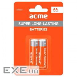 Батарейка ACME LR6 Alkaline Batteries AA/ 2pcs (4770070878675)