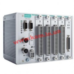 Modular RTU controller with RJ45 connectors, 5 I/ O slots, C/ C++, -40 to 75 (ioPAC 8500-5-RJ45-C-T)