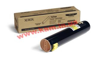 Тонер картридж Xerox PH7760 Yellow 25 000 стр@5% (106R01162)