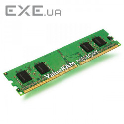 Модуль памяти KINGSTON ValueRAM DDR3 1333MHz 2GB (KVR13N9S6/2)