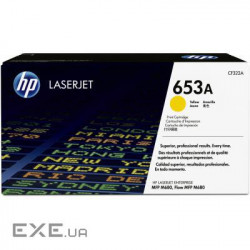 Картридж HP 653A Yellow LaserJet Toner Cartridge (CF322A)