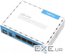 Маршрутизатор MikroTik hAP lite classic (RB941-2nD)