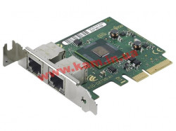 Сетевая карта Fujitsu D2735-A, Dual port ethernet card with Intel 82576NS1, PCI-E x4