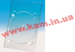 Бокс для 1-DVD digi TRAY clear IT Бокс для 1-DVD digi TRAY clear, Бокс для 1 DVD диска, ма (5675594)