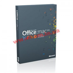 Офисное ПО Microsoft Office Mac Home & Business 1PK 2011 Russian DVD (W6F-00211)