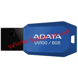 USB накопитель A-Data UV100 8Gb (AUV100-8G-RBL)