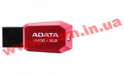 USB накопитель A-Data UV100 8Gb (AUV100-8G-RRD)