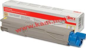 Картридж OKI Yellow Toner for C3450N, 1500Pages, NON-EU (43459441)