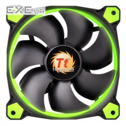Корпусный вентилятор Thermaltake Riing 12 Green LED (CL-F038-PL12GR-A)