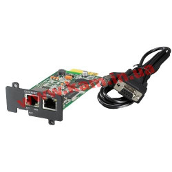 DELL UPS Network Management Card, Compatible with all current Dell UPS Models - Kit (409-10794)