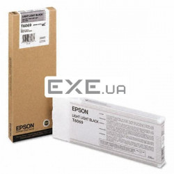 Картридж Epson StPro 4800/ 4880 Light black (C13T606900)