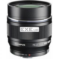DIL/ lens OLYMPUS ET-M7518 75mm 1:1.8 Black (V311040BE000)