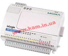 Ethernet micro RTU controller with 6 RTDs, 4 DOs, -40 to 75C operating temperature (ioLogik E2260-T)