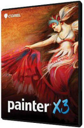 Painter X3 License (Single User) (LCPTRX3MLPCM1)