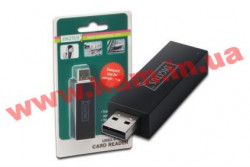 Кардридер Digitus USB 2.0 Ready for the Road (DA-70310-2)