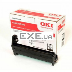Картридж OKI EP-CART Black forC5800/ 5900/ C5550, 20 000 Pages (43381724) EP-Cart-K-C5800 (43381724)