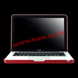 "Чехол MACALLY BOOKSHELL-2R Protection Shell for 13"" MacBook Pro Red"