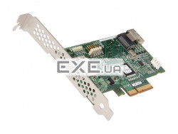 Adaptec SAS HBA 1405 4 internal port, Kit (в комплекте 1 кабель mSASx4 (SFF-8087) to SATA (4)