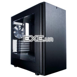корпус mATX без БЖ Fractal Design Define Mini minitower blac FRACTAL DESIGN (FD-CA-DEF-MINI-C-BK-W)