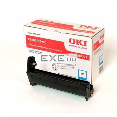 Картридж OKI EP-CART CyanC5800/ 5900/ C5550, 20 000 Pages (43381723)