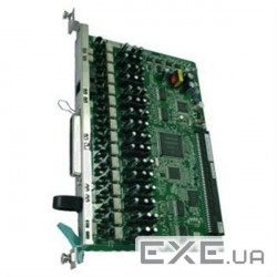 Плата расширения Panasonic KX-TDA1180X для KX-TDA100D, 8-Port Analogue Trunk Card with (KX-TDA1180X)