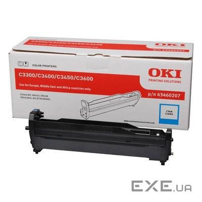 Картридж OKI EP-CART Cyan for C3300/ C3400,15 000 Pages (43460207) EP-Cart-C-C33/ 3400 (43460207)