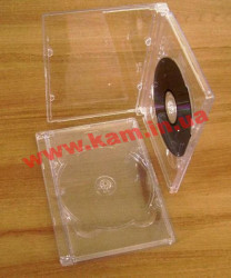 Бокс для 1-DVD clear super jewel (стекло) IT Бокс для 1-DVD clear super jewel (стекло) (5474487)