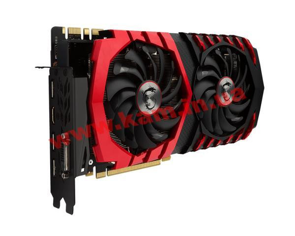 Видеокарта MSI GeForce GTX1080 8GB GDDR5X GAMING (GTX 1080 GAMING X 8G)