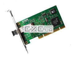 Сетевая карта D-link DGE-550SX 1port 1000Base-SX(LC), PCI (оптика) (DGE-550SX/F1L)